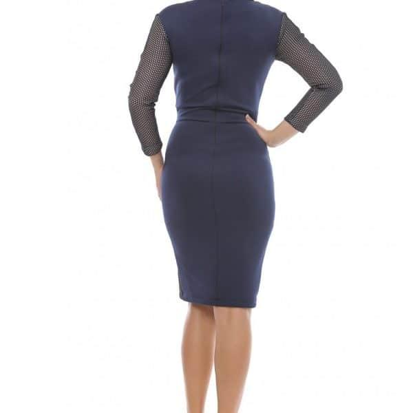 Rochie sexy eleganta cu plasa big mag