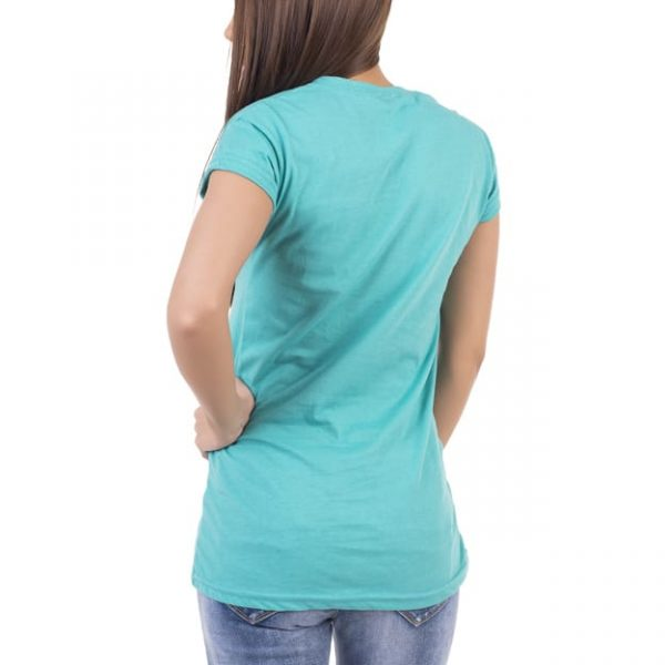 Tricou de dama albastru diferite culori