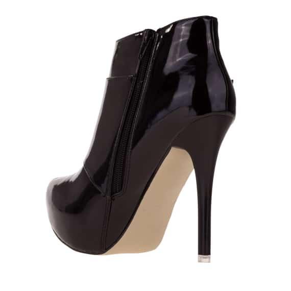 Botine negre elegante de dama