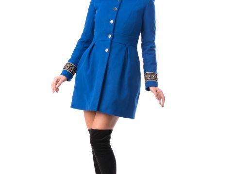 Palton Dama Elegant din stofa En Gros