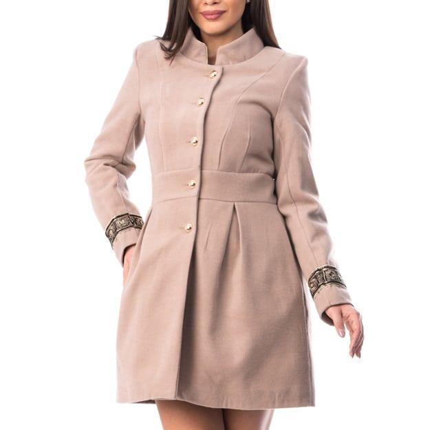 Palton Dama Elegantdin stofa Model Nou