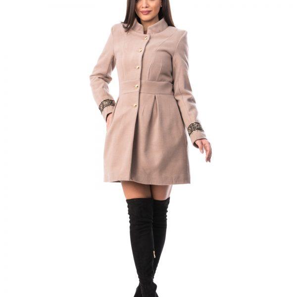 Palton Dama Elegant din stofa