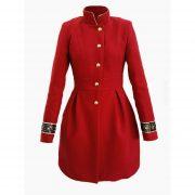 Palton Dama Elegant din stofa Big Mag