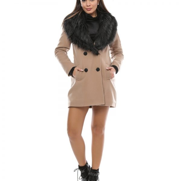 Palton Dama Gros de Iarna cu Captuseala En Gros
