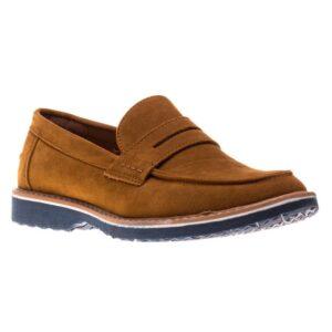 Pantofi barbati Clark maro fara sireturi