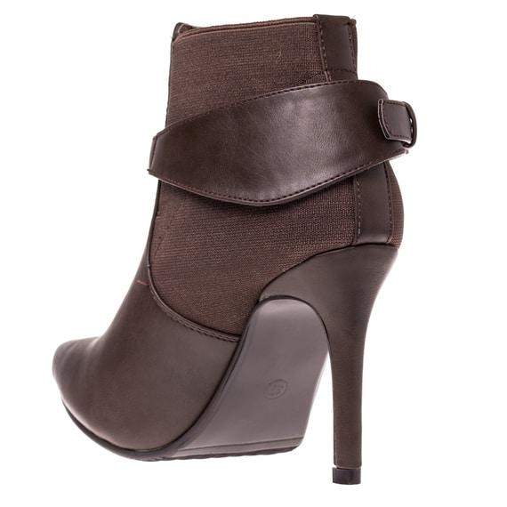 Pantofi cu Toc maro eleganti de dama