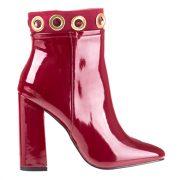 Pantofi eleganti cu toc dama Metropol rosii