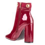Pantofi eleganti cu toc dama rosii