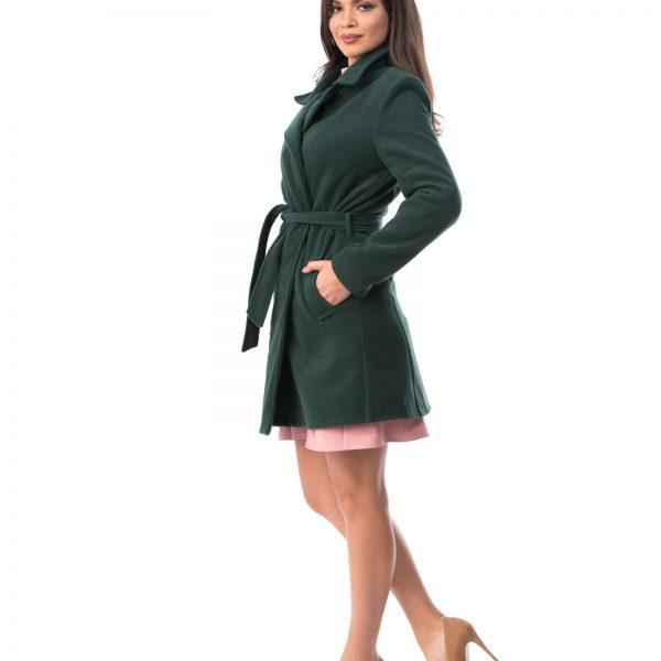 Pardesiu Dama Model NOU din stofa verde