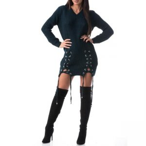 Rochie din material tricotat, confortabila MODEL NOU cod606